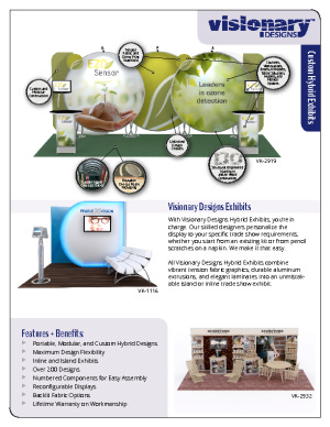 Visionary Designs Hybrid Exhibits